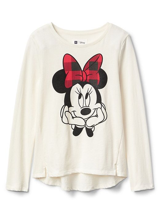 2cd1c2d4650 GapKids   124 Disney Mickey Mouse and Minnie Mouse hi-lo tee