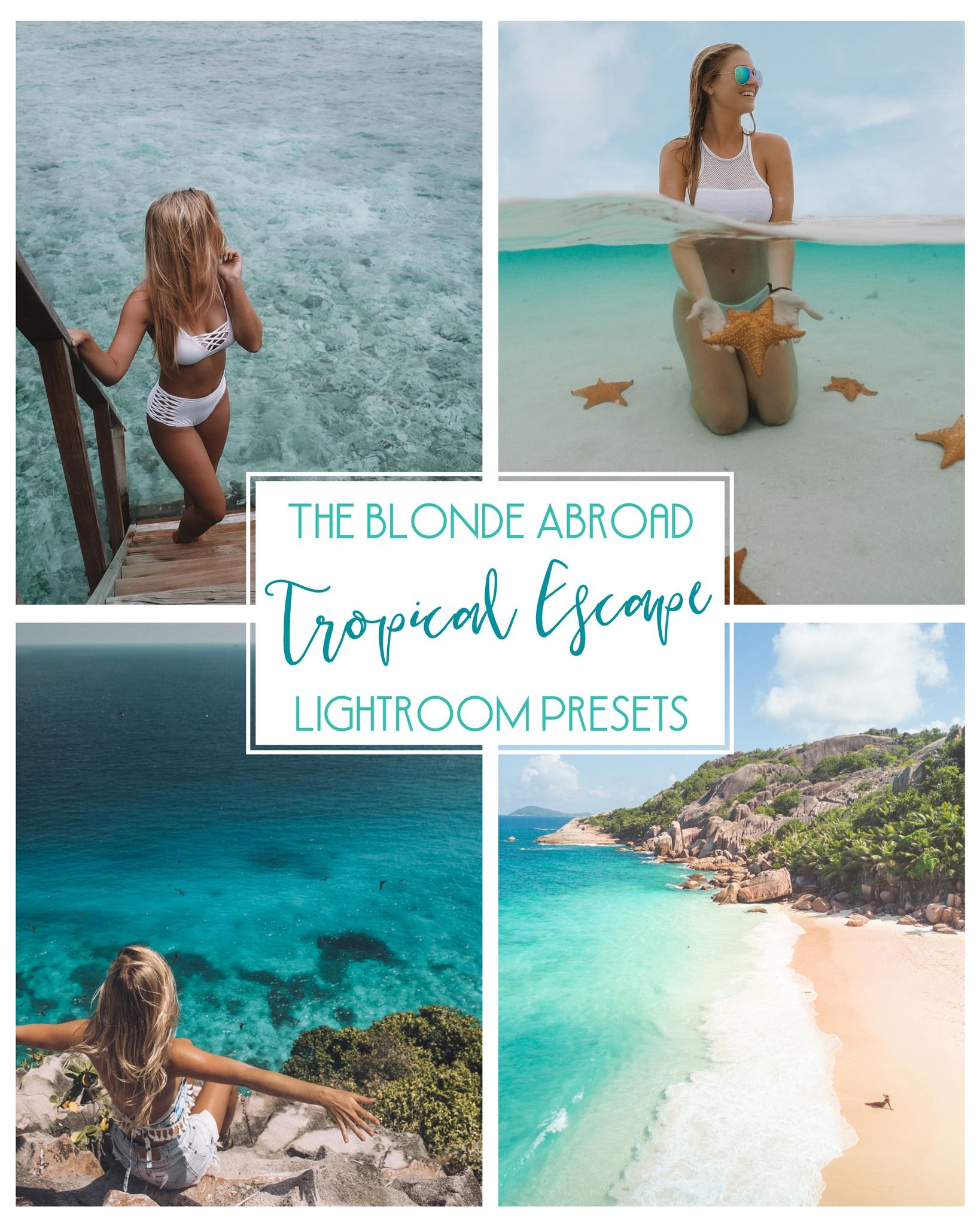 1475e33d1229 The Blonde Abroad Tropical Escapes Lightroom Presets       Travel Photo  Editing