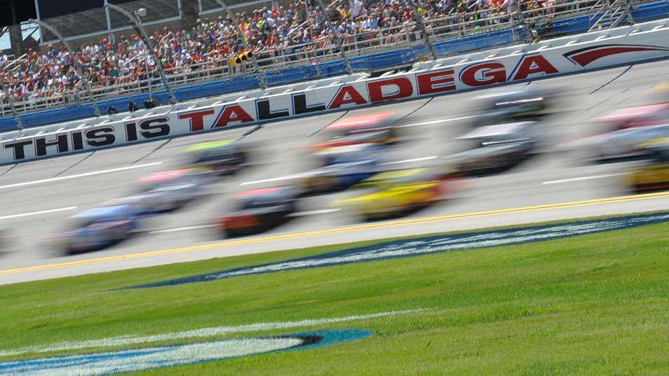 Elimination time NASCAR TV schedule for Talladega