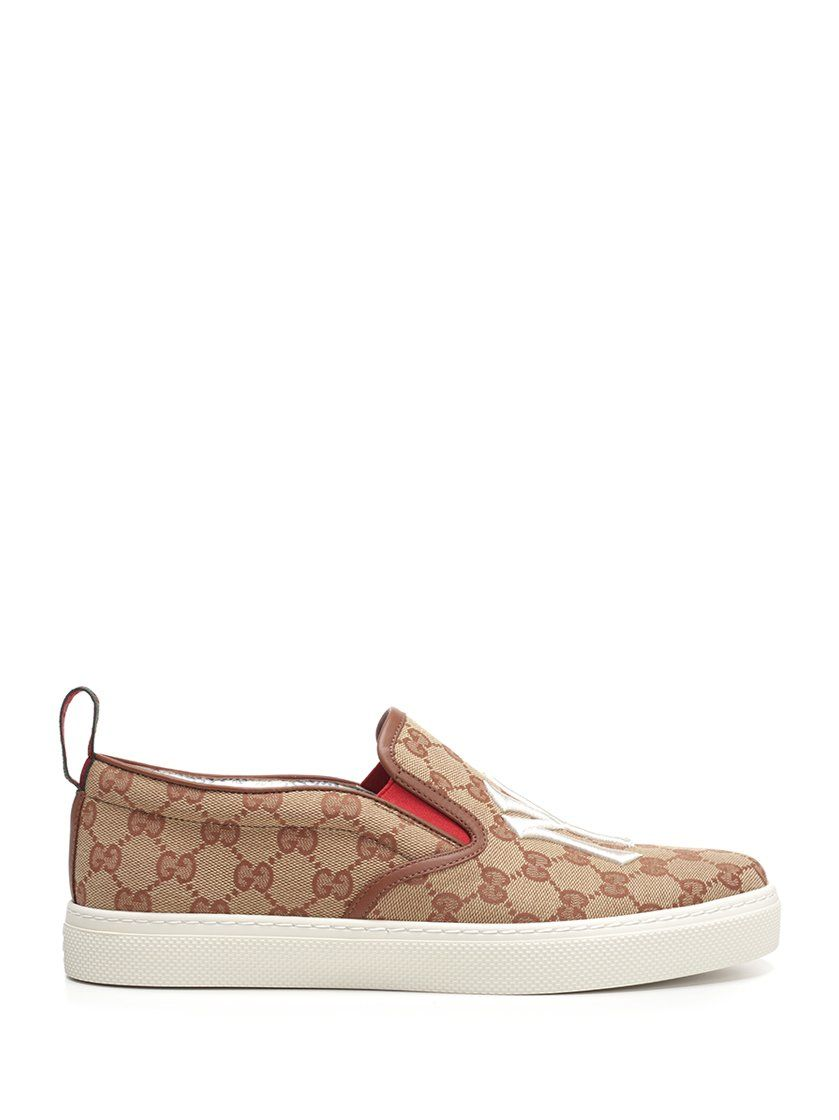 3ad691f21e6eb GUCCI GUCCI NY YANKEES SLIP ON SNEAKERS.  gucci  shoes