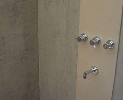 Badkamer zonder Tegels.- Strakke Waterdichte badwanden zonder voegen ...