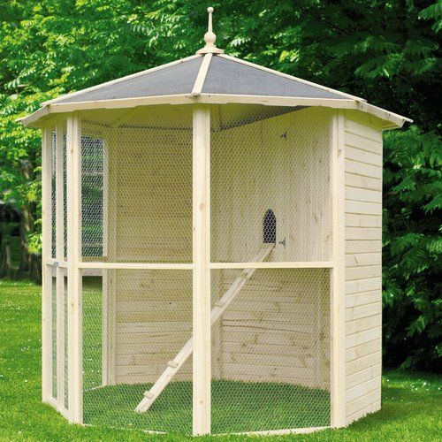Freistehendes Vogelhaus Garten Living Gazebo Netting Butterfly House Outdoor