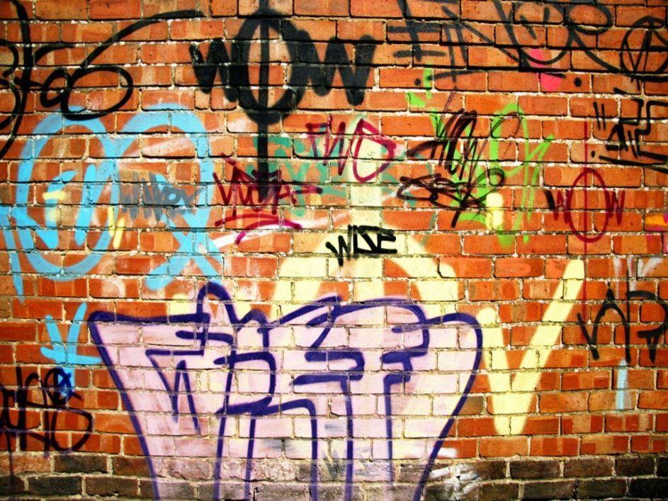 Design Ideas Appealing Brick Wall Graffiti 103 Brick Wall Graffiti