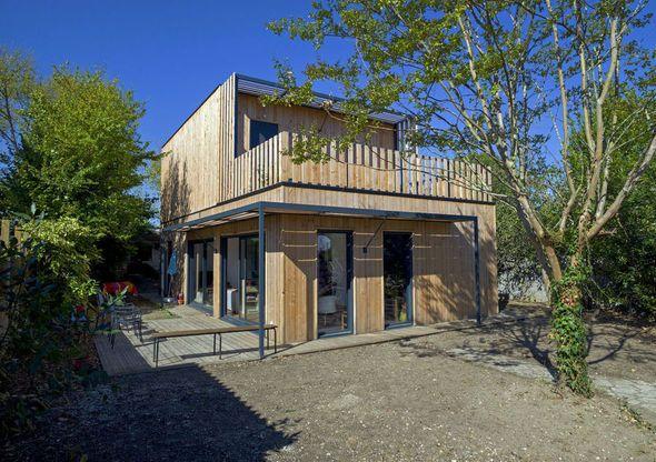 Maison modulaire et écologique - Détail du plan de Maison modulaire