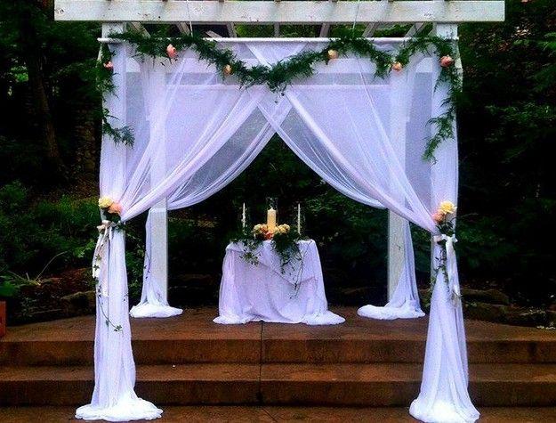Pergola Wedding Decoration Ideas Gazebo Wedding Decorations