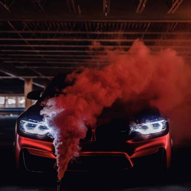 Superbe RED✖️SMOKE [ CarLifestyle M3 @f80awm3 ] [ Photo/Video By @thousand