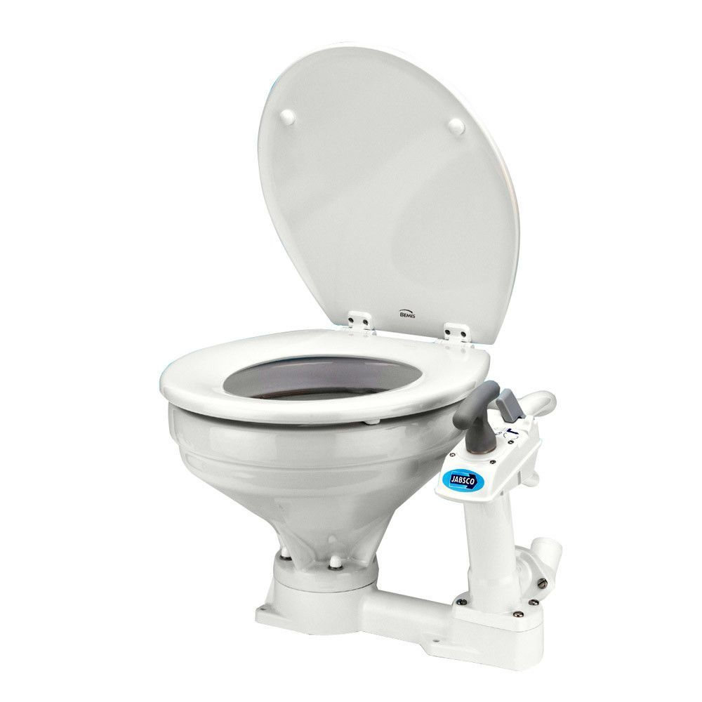 Jabsco Manually Operated Marine Toilet - Regular Bowl