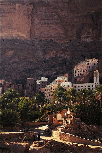 Wadi Doan, famous for it's honey - Hadramaut,Yemen