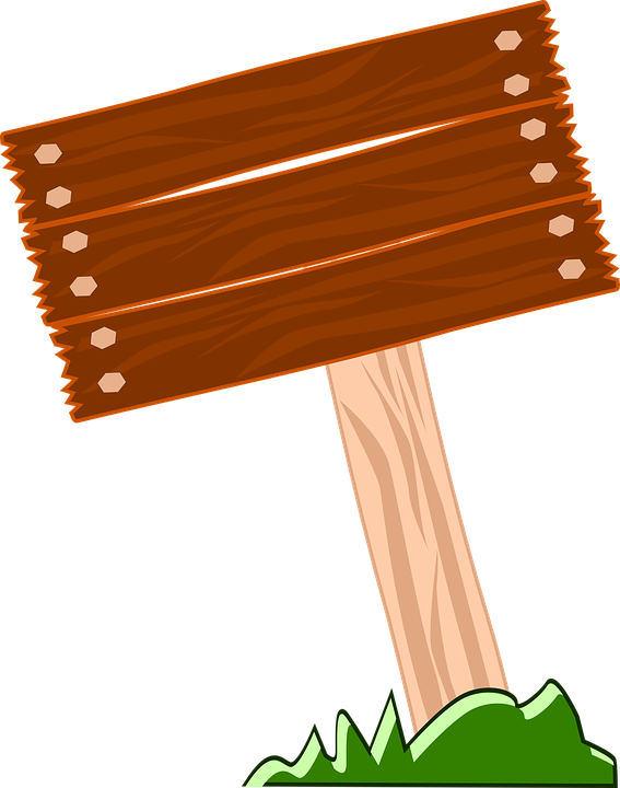 Wood Sign Clipart Png