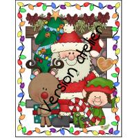 Atelier Le lutin a caché les mots de Noël