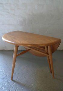 Ercol drop leaf Coffee Table Retro Vintage Vintage