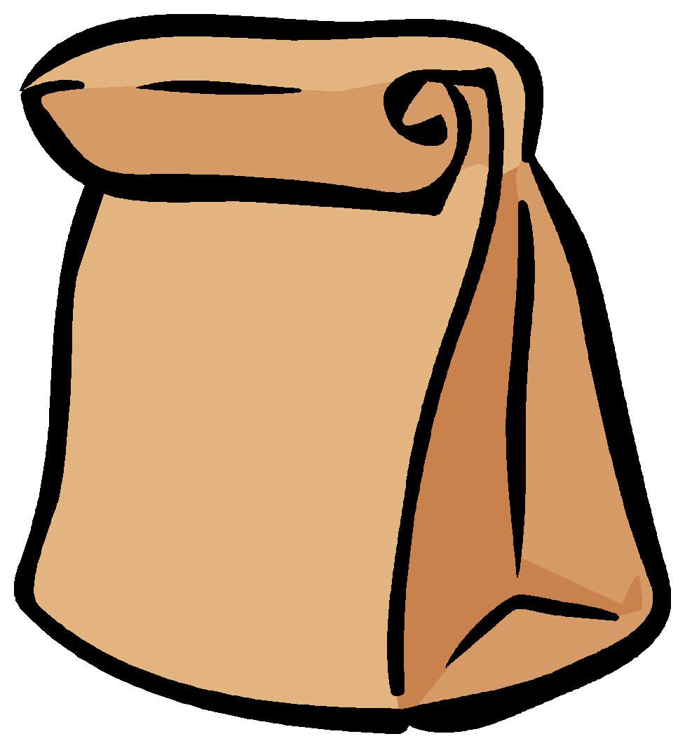 brown-bag-lunch-clip-art-145953.jpg (977×1067) | Halloween clipart free,  Free clip art, Halloween clipart