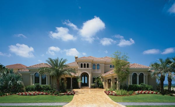 Florida Luxury Custom Home Design Plan: Biscayne Iii 115 | Arthur