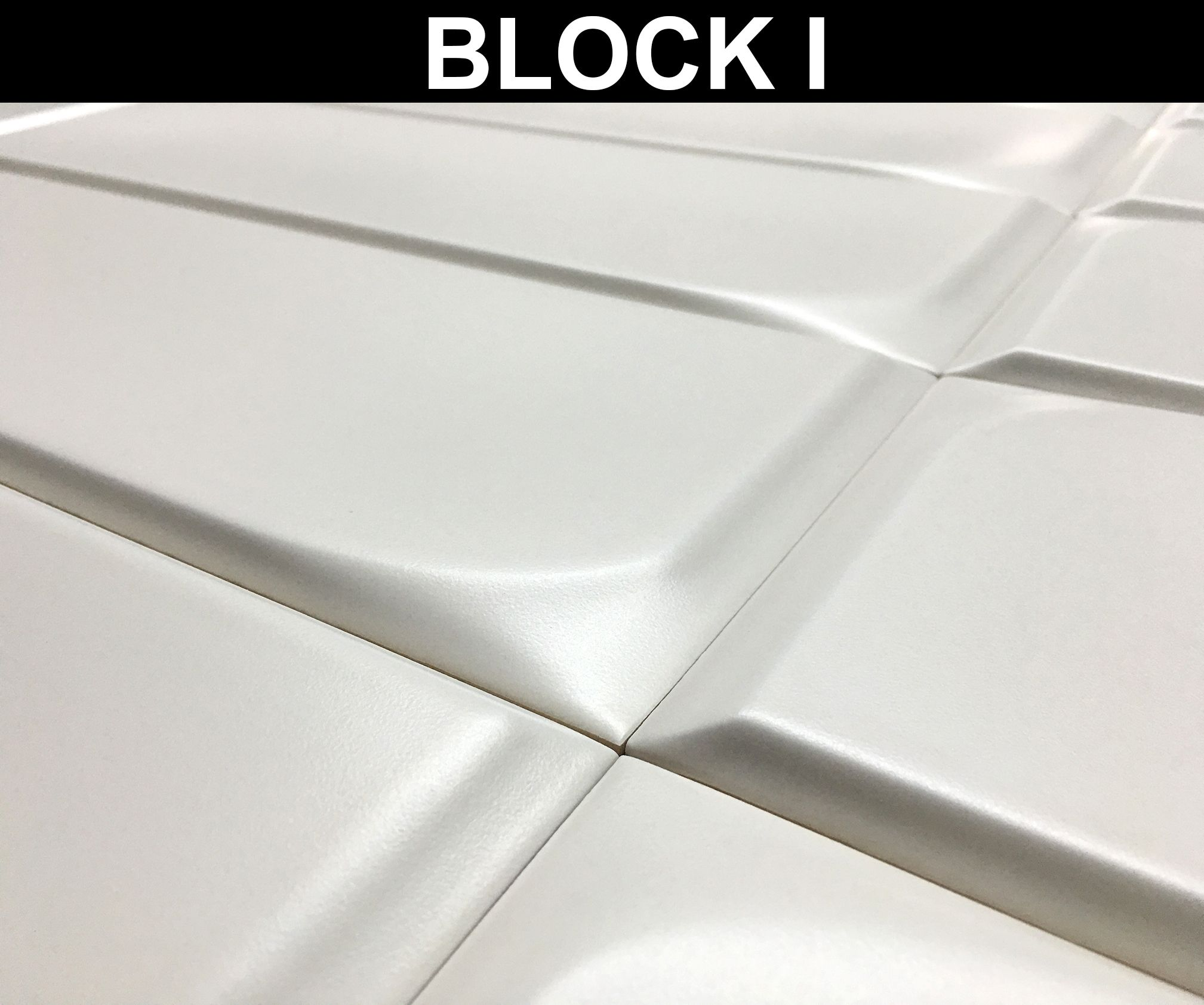 Detail Ceramic Relief 4 96 X 14 76 In Colours White Beige Brown Grey And Black Detalle Relieve Ceramico De 12 5 X 37 5 Cm En Azulejos Colores Modulares