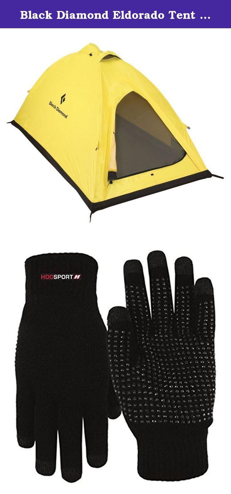 Black Diamond Eldorado Tent and HDO Lite E-tip Gloves with Grippers. Black Diamond  sc 1 st  Pinterest & Black Diamond Eldorado Tent and HDO Lite E-tip Gloves with ...