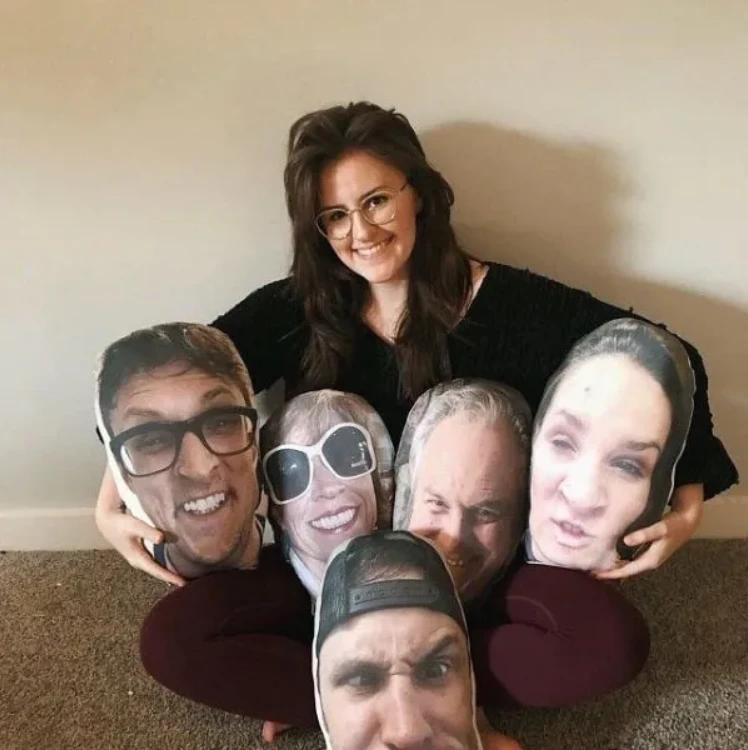 Custom Face Photo Pillow -Make It Looks Like Any Face