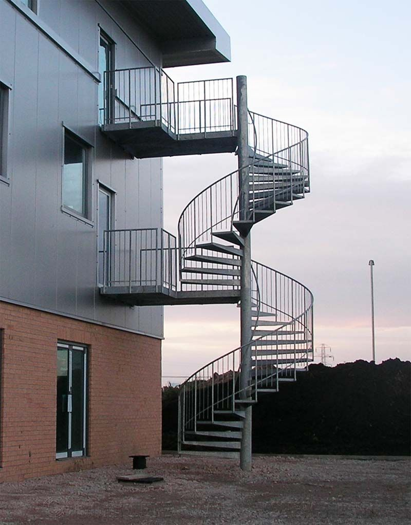 Best External Spiral Staircase Spiral Staircase Escaleras 400 x 300