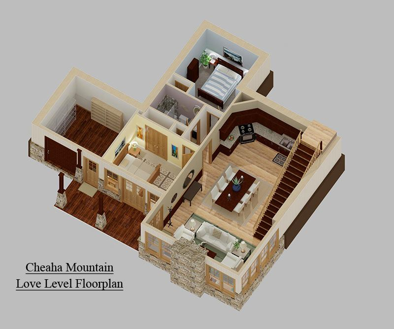 3 Bedroom Craftsman Cottage House Plan With Porches Cottage House Plans Porch House Plans House Plans
