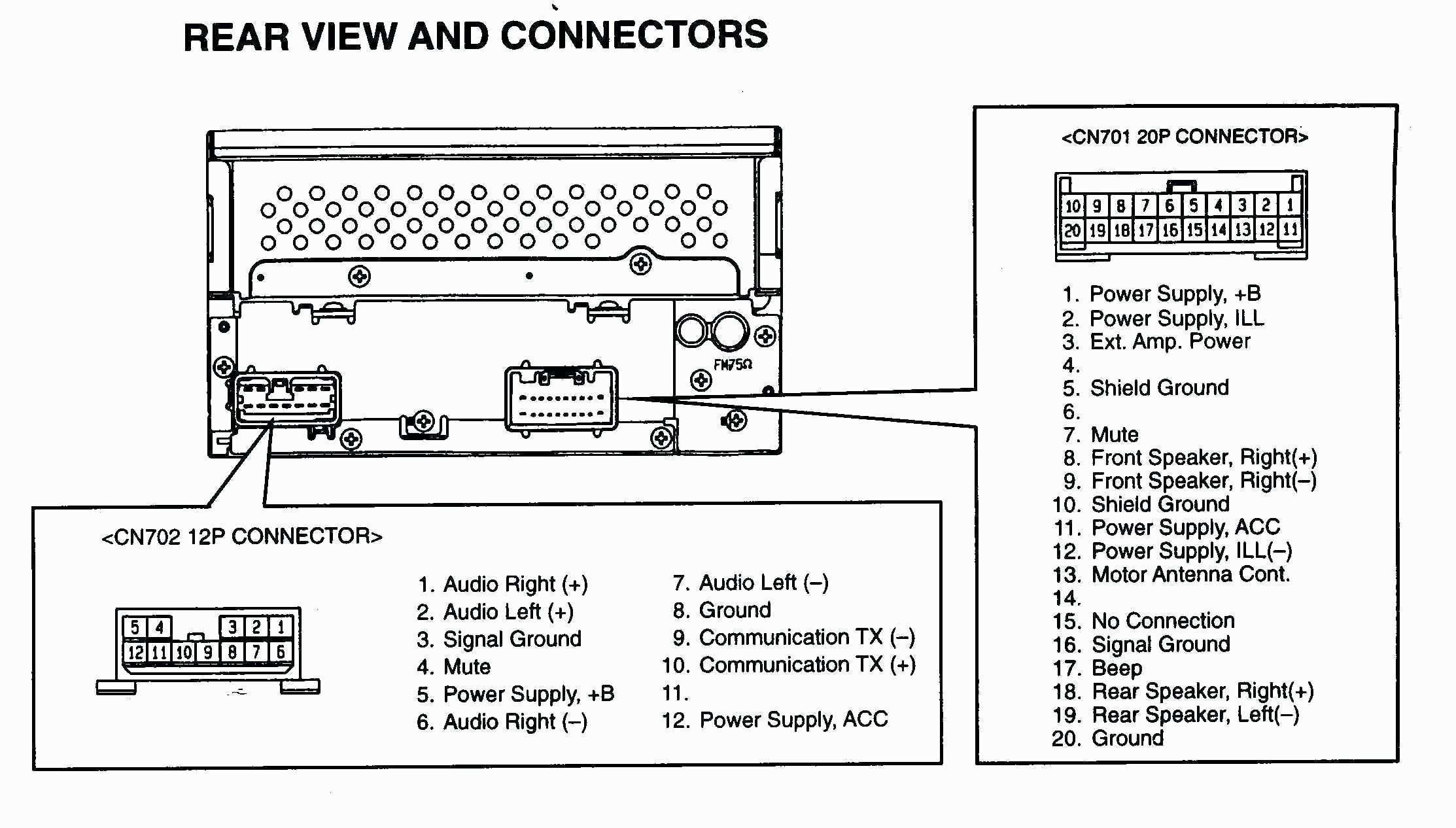 17 Good Sample Of Toyota Jbl Amplifier Wiring Diagram Design Ideas