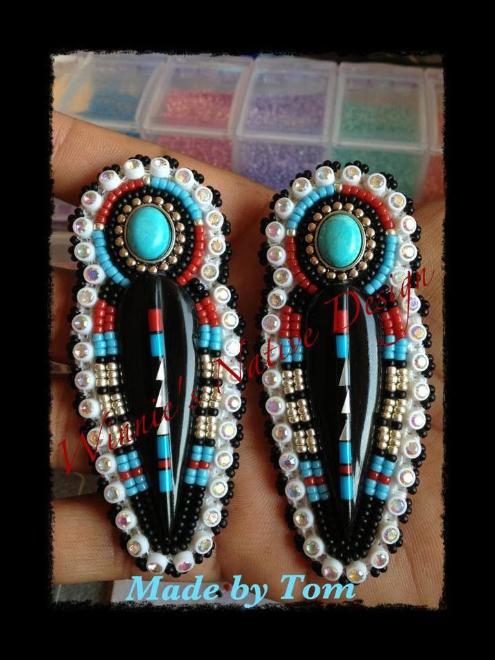Earrings Winnie S Native Design On Fb Diy Earrings