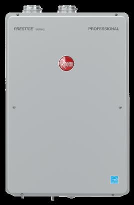 Rheem Condensing Tankless Professional Prestige 90 Direct Vent Indoor Rtgh 90dlvp 2 Rheem Manufacturing Company Hvac System Water Heater Spa Pool
