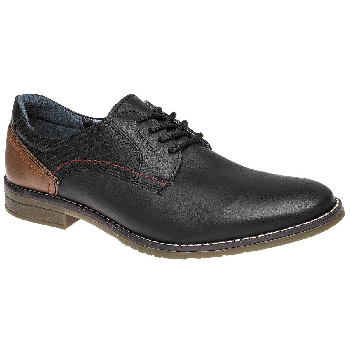 ClassyDude Zapatos de Cordones de Material Sintético Para Hombre Rojo Negro bKrRH86vRZ