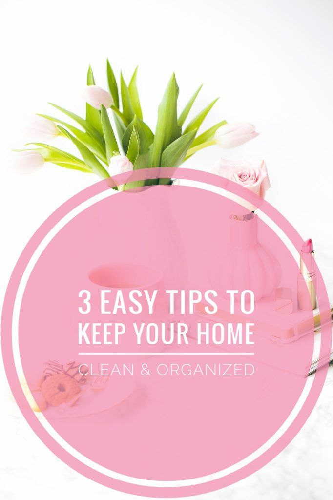 I love having a clean and organized home, and I secretly enjoy the process! I know not everyone enjoys it so I came up with three simple but useful tips to help your home stay clean and organized without having to spend hours a day cleaning! Don't forget to put on some upbeat music while you clean! 😉  This post contains affiliate links. Read full disclosure policy here. 1) HAVE A CLEANING ROUTINE Having a morning and night cleaning Read More