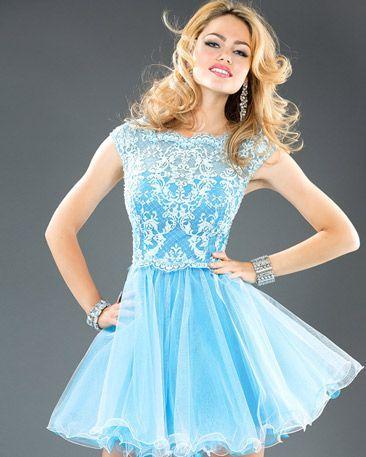 cutenfanci.com light blue cocktail dress (14) #cocktaildresses ...