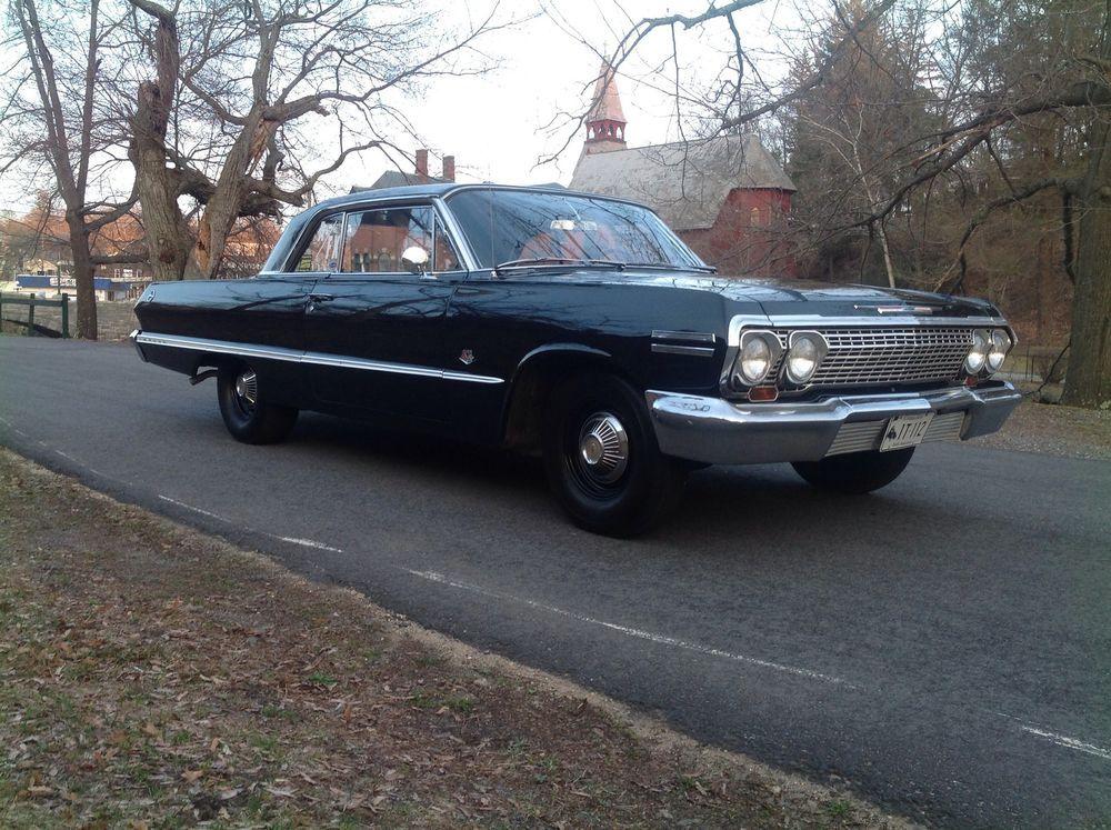 1963 Chevy Impala 409 4 speed survivor Low mileage | Cool Cars ...