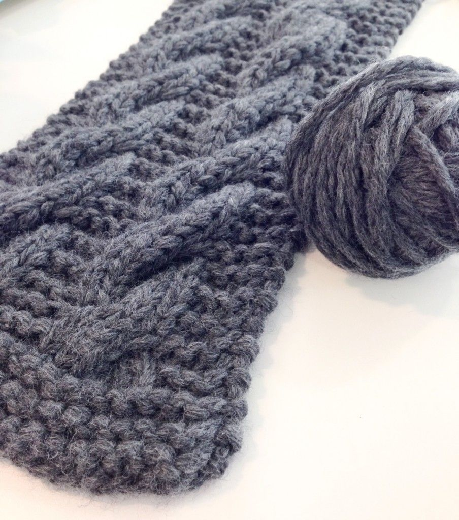 Cabled scarf and headband - Free Knitting Patterns - Accessories ...