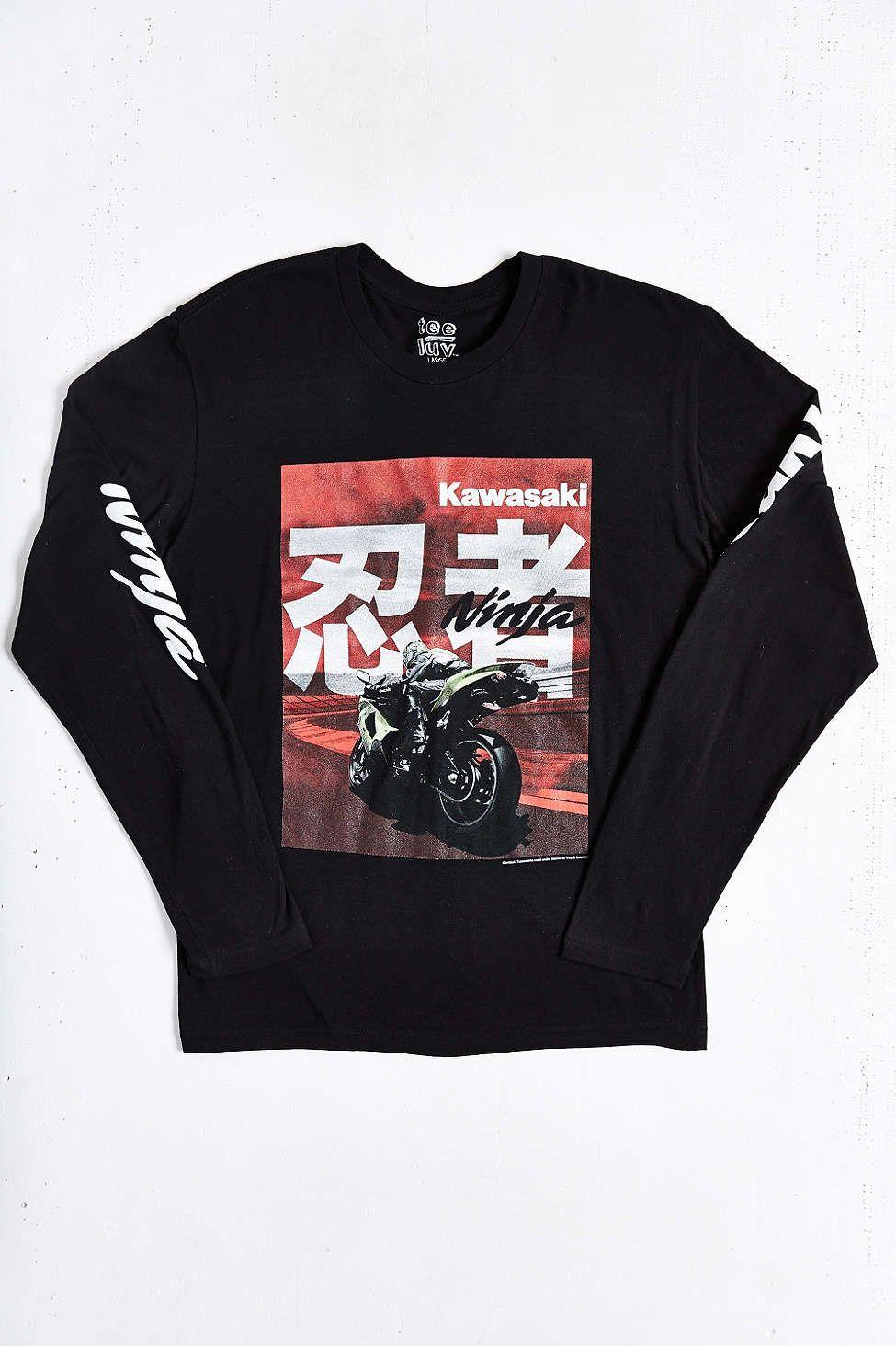 Kawasaki Ninja Long-Sleeve tee