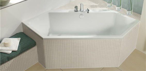 Villeroy & Boch Subway Badewannen sechseck - fürs kleine Bad ...