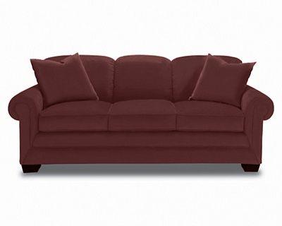 Mackenzie Premier Sofa By La Z Boy In Wine Comfortable Sofaz Boyssleeper