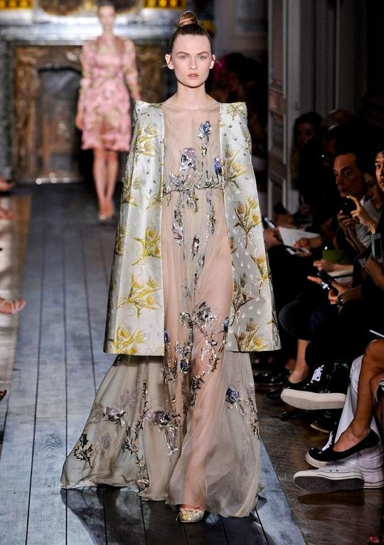 valentino couture gown
