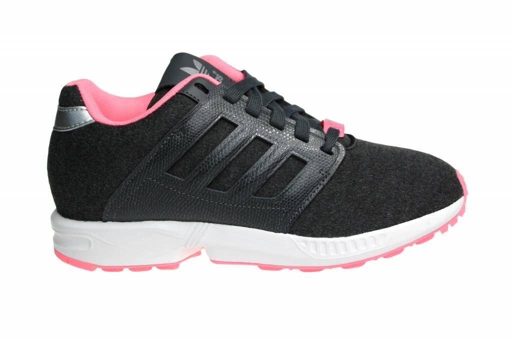 Adidas ZX Flux 2.0 for women. Beautiful color combination of gray and pink.  Free