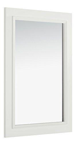 Simpli Home Cambridge Bath Vanity Mirror 22 X 30 White Click Image To Review More