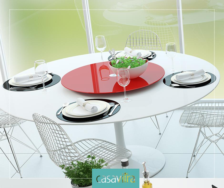 Centro de mesa Casavitra, é prático e ainda decora as suas refeições! Loja virtual: http://ow.ly/FyJzW