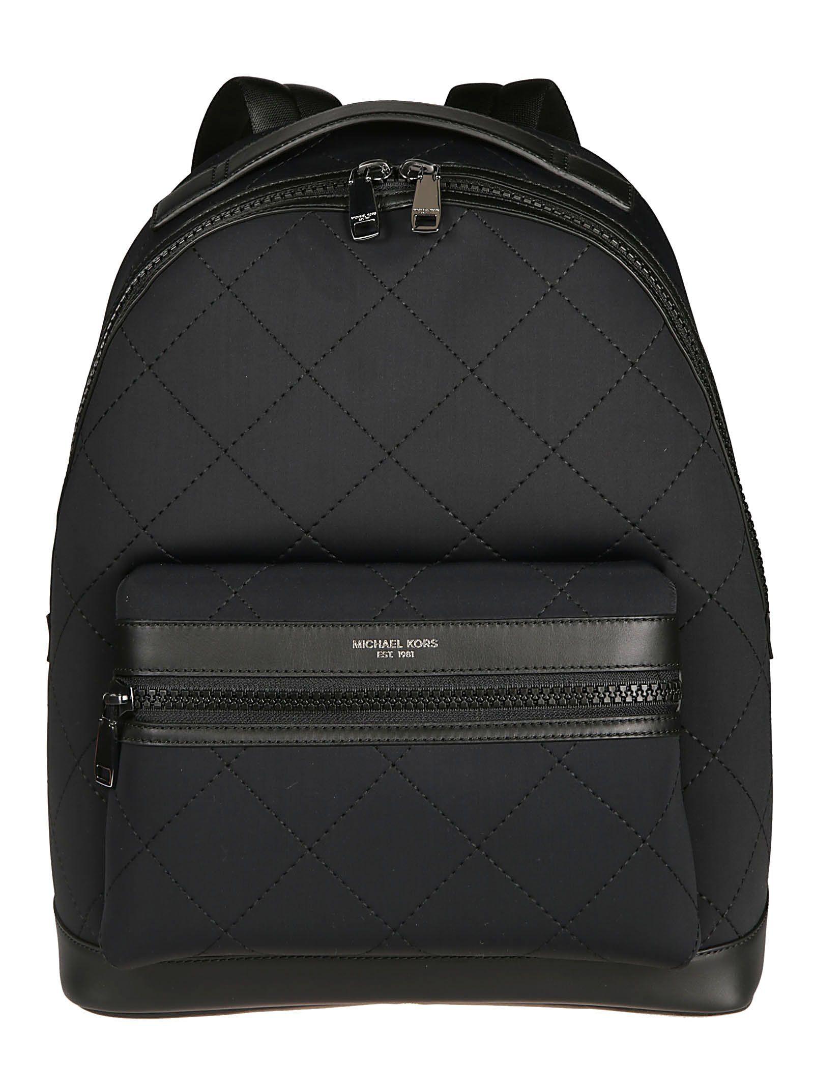 1a7b48f0e25b55 MICHAEL KORS QUILTED DETAIL BACKPACK. #michaelkors #bags #nylon #backpacks