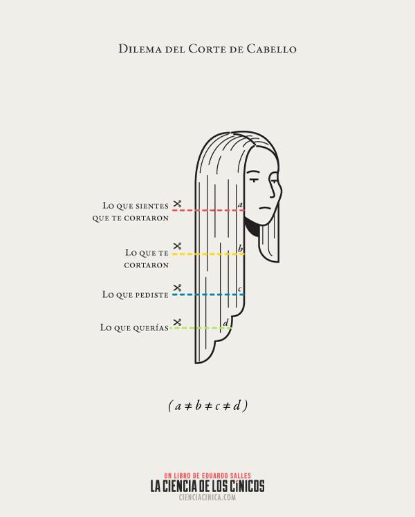 Corte de cabello frases
