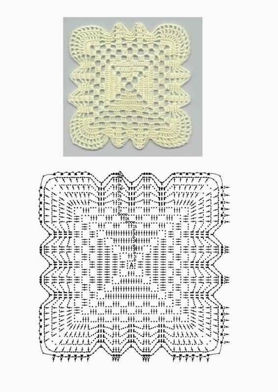 Letras e Artes da Lalá: square | poduszka | Pinterest | Diagramm ...