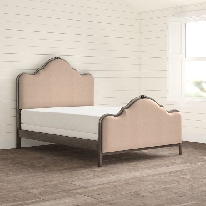 Best Saltville Upholstered Standard Bed Reviews Birch Lane 400 x 300