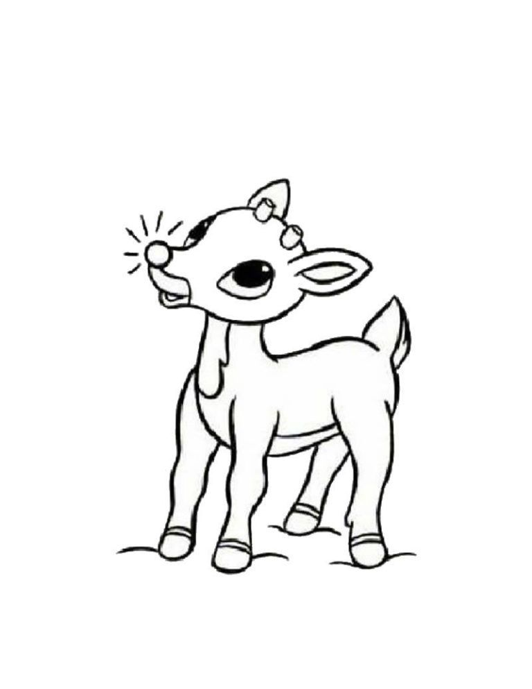 Rudolph The Red Nosed Reindeer Coloring Pages Abominable Snowman Yard Art Craftsred Rudolph Coloring Pages Christmas Coloring Pages Christmas Coloring Sheets