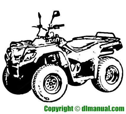 Kawasaki KFX90 All Terrain Vehicle Service Manual