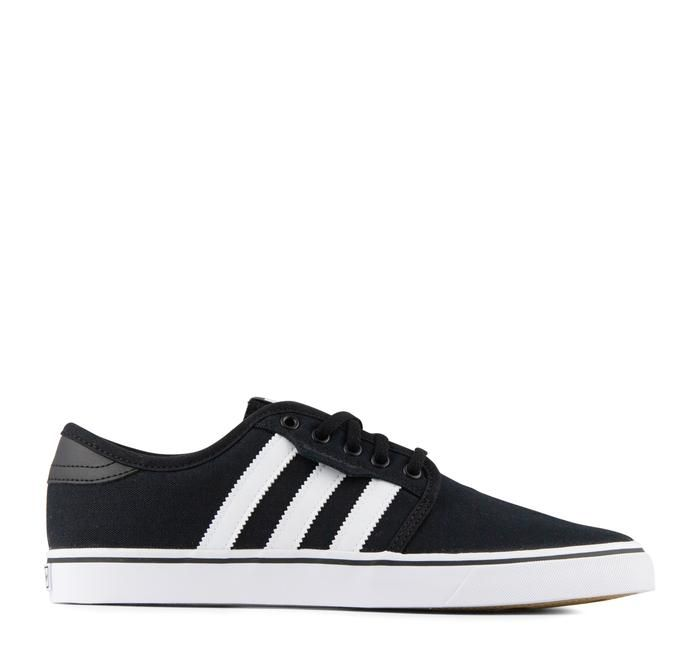 low priced 8cd9a ad66b Adidas Seeley F37427 Sneaker in Black Your new favorite skate shoes. The  Seeley by Adidas features signature 3-Stripe design, a vulcanized outsole  for a ...