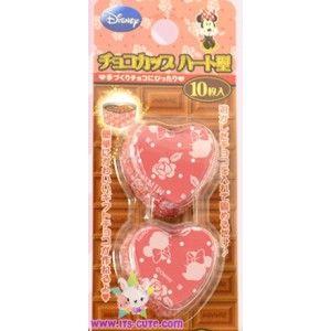 Minnie Mouse Heart Foil Mini Cupcake Liners. 10pcs