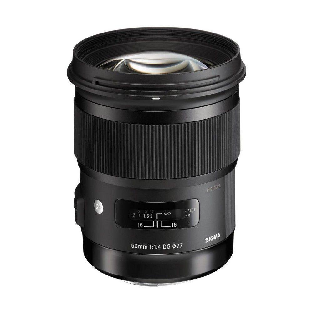 Sigma 50mm F 1 4 Dg Hsm Art Lens For Canon Ef Usa Warranty Sigma Art Lens Sigma Lenses Art Lens
