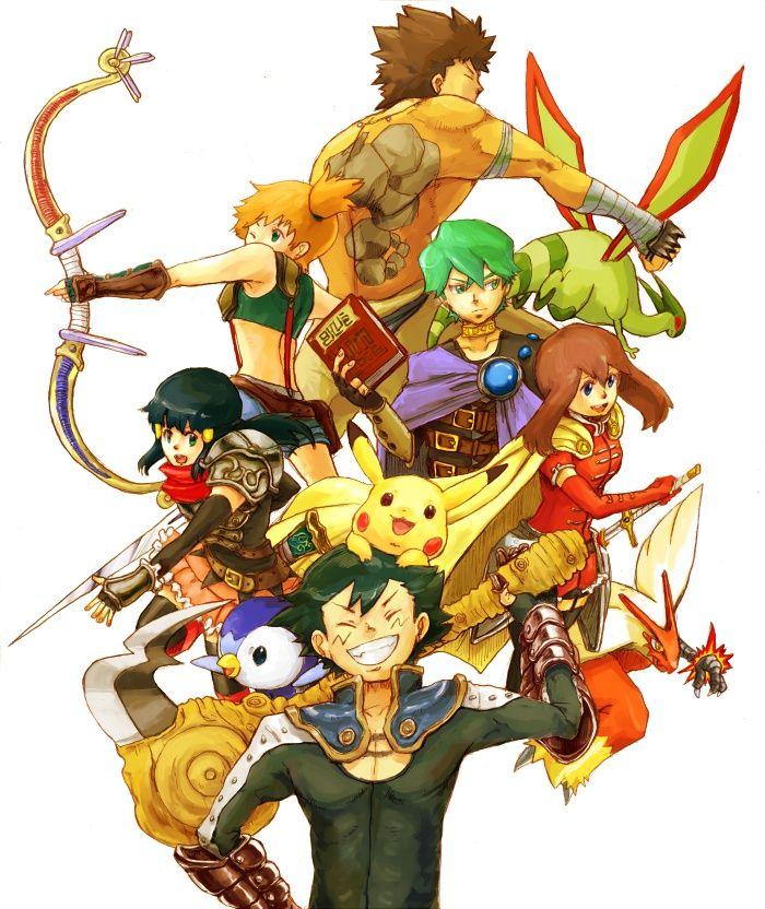Pokemon RPG by Damagi01 deviantart com on @DeviantArt