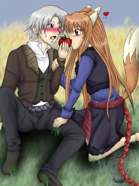 Spice And Wolf Holo X Lawrence Commission Holo And