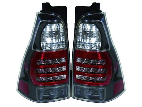 Toyota 96-02 4 Runner Smoke Euro Style Rear Tail Lights Lamp Base Limited SR5