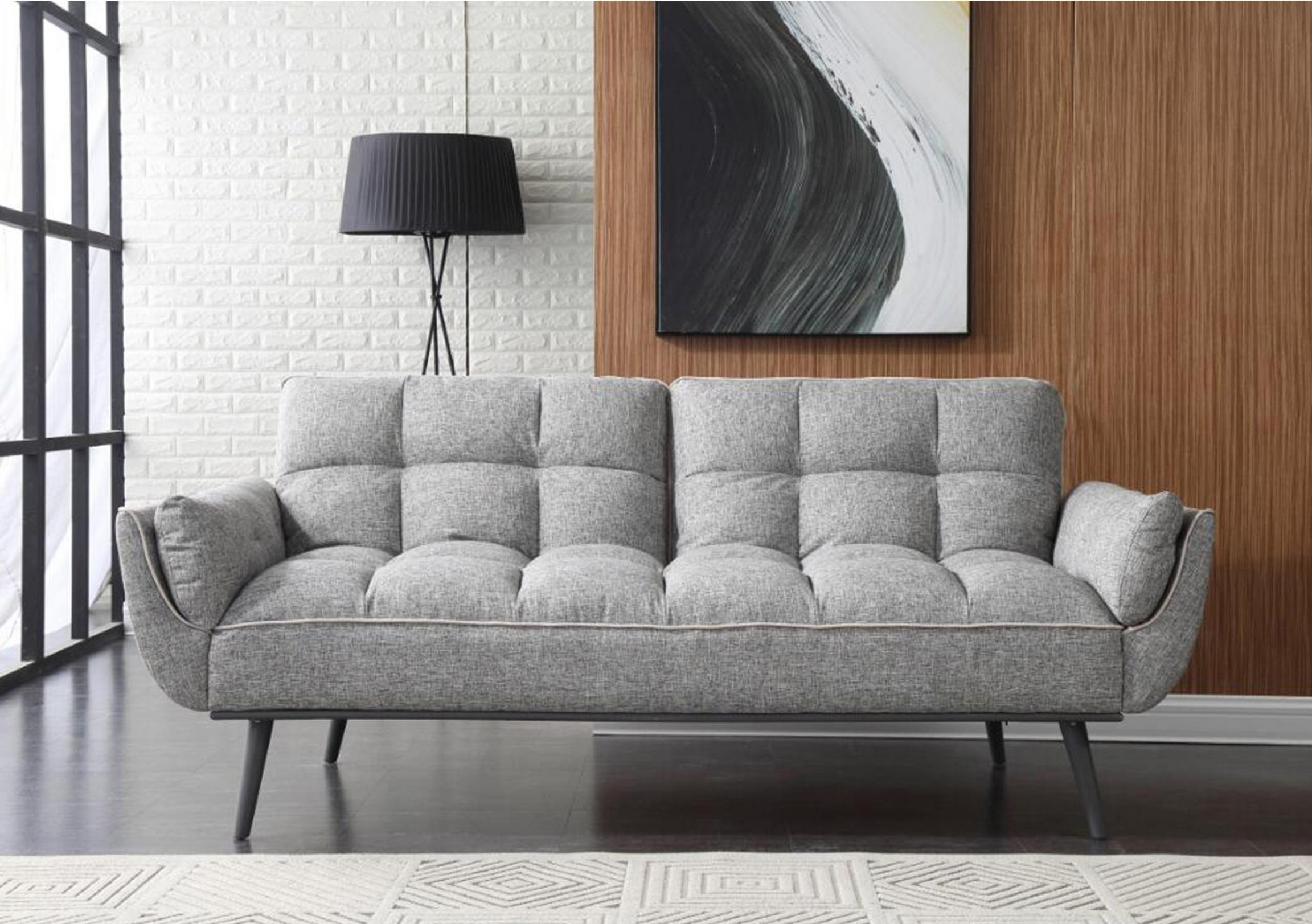 Fabulously stylish modern sofa bed with cushioned